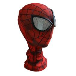 Man Spider-man Mask with Lens Party Accessories