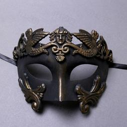 Men Masquerade Mask Roman Greek Warrior Emperor Venetian Mas