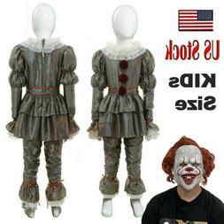 Movie It: Kids Chapter Two Pennywise Halloween Cosplay Costu