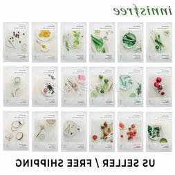 innisfree My Real Squeeze Mask 18 Kinds  3 pcs / 5 pcs