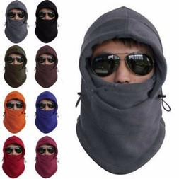 New Men Women Winter Fleece Balaclava Hat Ski Motorcycle Nec