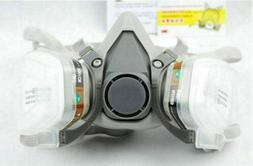 New Safety Painting Spraying For 3M 6200 N95 Half Face Dust