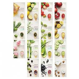 One Korean Innisfree It's Real Squeeze Mask sheet - 15 Varie
