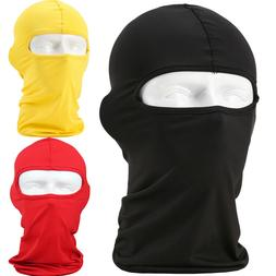 Outdoor Full Face Mask Balaclava lycra Ski Neck Summer Sun U