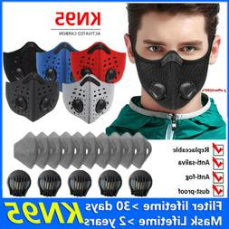 Outdoor Reusable Mouth Mask Air Purifying Face Filter Masks