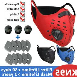 Outdoor Safe Mask Air Purifying Filter Pads US Face Cover Re