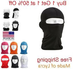 Ski Mask Motorcycle Cycling Balaclava Lycra Full Face Mask N