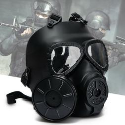 Paintball Tactical Airsoft Game Safety Toxic Gas Mask Face P