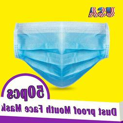 Personal Health Pollen Face-mask Breathable 50pcs For adult