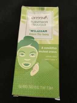 AVEENO POSITIVELY RADIANT MAX GLOW PEEL-OFF MASK 2 OZ NEW