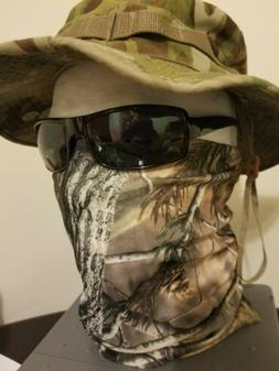 Realtree face mask tactical military army Camo Camouflage HU