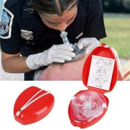 Mouth Breath First Aid CPR Resuscitator Aid Supplies New CPR
