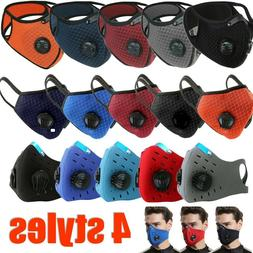 Reusable Washable Neoprene Air Ventilation Port Face Mask +