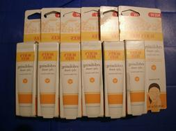Set of 6 BURT'S BEES EXFOLIATING CLAY MASK w PLUM EXTRACT -