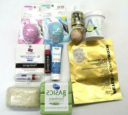Skincare Items Lot Various Brands & Products Lip Care, Soap,