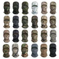 tactical camouflage hunting balaclava face mask neck