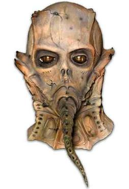 Thanatoid Mask Alien Monster Scary Fancy Dress Halloween Adu