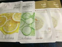 THE FACE SHOP Mask Set of 4 Sheet Masks