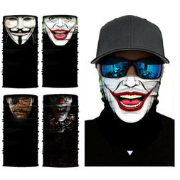 US Ship! Joker Motorcycle Cycling Neck Scarf Half Face Mask