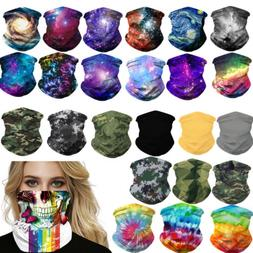 UV Protection Tube Mask Washable Face Cover Neck Gaiter Outd